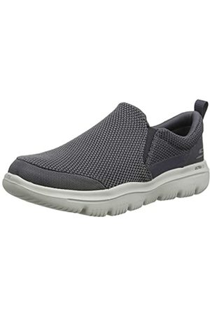 Skechers Go Walk Evolution Ultra-impec, Men's Slip On Trainers, (Charcoal Textile Charcoal)