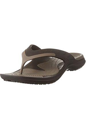 Crocs Unisex Adults' MODI Sport Flip Flops, (Espresso/Walnut 23b)