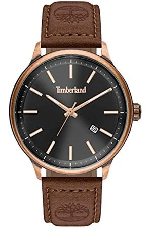 Timberland Mens Analogue Quartz Watch with Leather Strap TBL15638JSQBZ.61