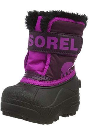 sorel Unisex Kid's TODDLER SNOW COMMANDER Boot, Dahlia, Groovy