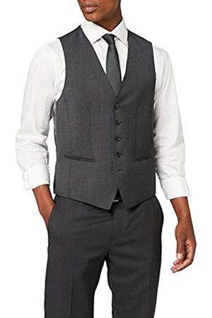Tommy Hilfiger Tailored Men's Webster STSSLD99003 Plain Waistcoat