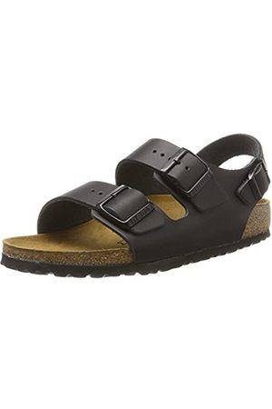 Birkenstock Milano Leather Wide, Men's Slingback Sandals