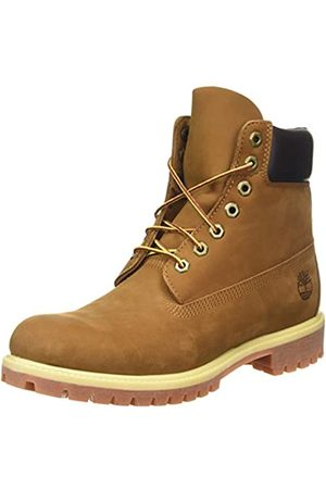 Timberland Men's 6 Inch Premium Lace-up Boots, (Rust Nubuck)