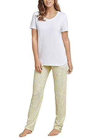 Schiesser Women's Anzug Lang, 1/2 Arm Pyjama Set