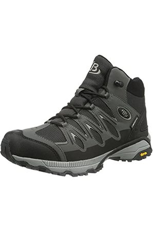 Bruetting Unisex Adults' Expedition Mid High Rise Hiking Boots, (Schwarz/Grau Schwarz/Grau)