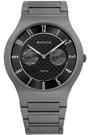 Bering Men's Analogue Quartz Watch with Titanium Strap 11939-777
