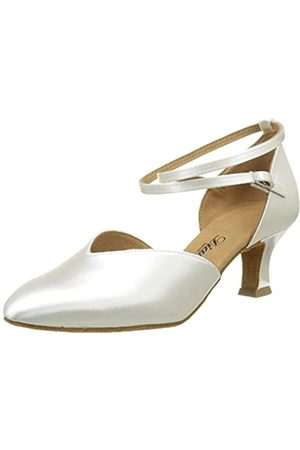 Diamant 105-068-092, Women's Ballroom Shoes, (Weiß)