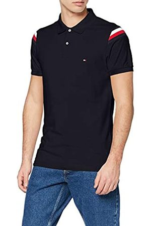 Tommy Hilfiger Men's Shoulder GS Insert Slim Polo Shirt
