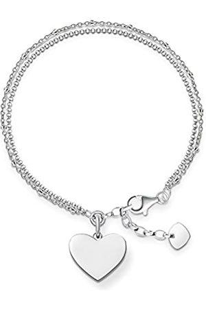 Thomas Sabo Women-Bracelet Love Bridge 925 Sterling Length from 16 to 19.5 cm LBA0102-001-12-L19