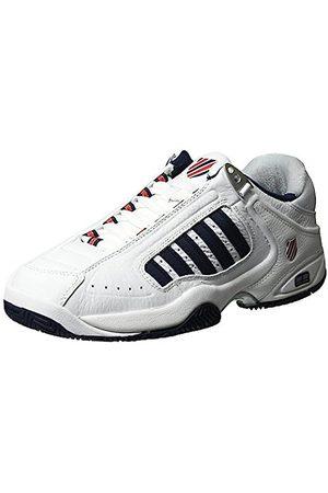 K-Swiss Defier Rs, Men's Tennis Shoes, ( /Dressblues/Fieryred 38)