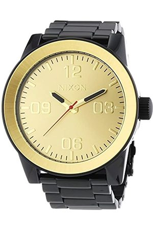 Nixon Men's Analogue Quartz Watch with Stainless Steel Strap A346-010-00