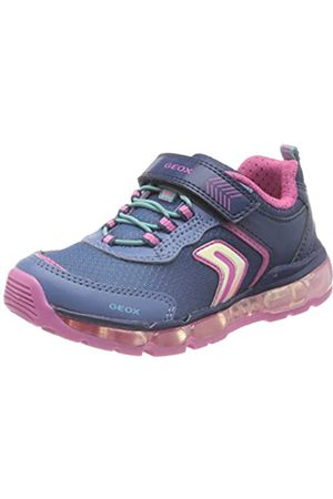 Geox Girls' J Android Low-Top Sneakers, (Navy C4002)