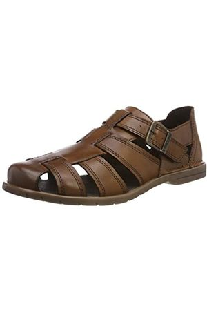 Camel Active Men's Kreta 12 Closed Toe Sandals, (Almond 11)