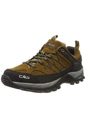CMP Rigel Men's Low Rise Hiking and Trekking Shoes, (Senape-Arabica 03pd)