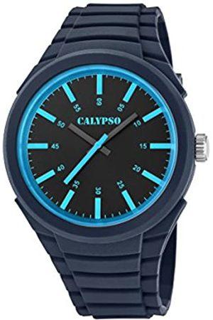 Calypso Mens Analogue Classic Quartz Watch with Plastic Strap K5725/6