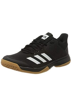 adidas Women's Ligra 6 Volleyball Shoe, Core /FTWR /Gum M1