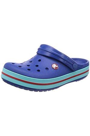 Crocs Unisex-Adult's Crocband Clogs, ( Jean/Pool 4io)