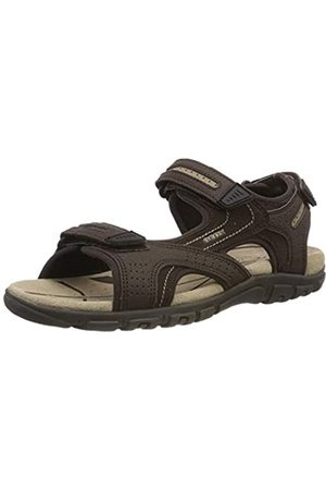 Geox Men's Uomo Sandal Strada D Open Toe, ( /Sand C0705)