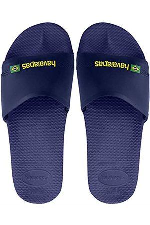 Havaianas Slide Brasil, Unisex Adult's Flip Flops, (Navy )