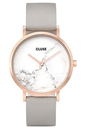 Cluse Womens Analogue Classic Quartz Connected Wrist Watch with Leather Strap CL40005