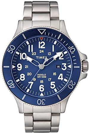 Timex Mens Analogue Classic Quartz Watch with Stainless Steel Strap TW2R46000