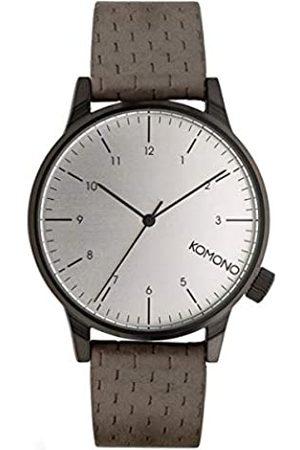KOMONO Unisex Analogue Quartz Watch with Leather Strap – KOM-W2102