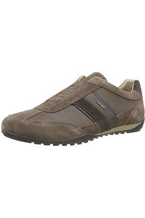 Geox Men's U Wells A Low-Top Sneakers, (Chocolate C6005)