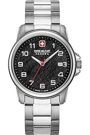 Swiss Military Hanowa Unisex Adult Analogue Quartz Watch with Stainless Steel Strap 06-5231.7.04.007.10