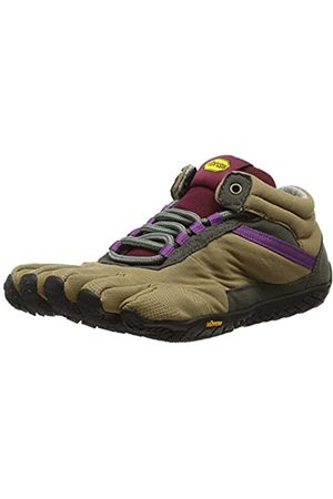 Vibram Trek Ascent Insulated, Women's Multisport Outdoor, Multicolored (Khaki/Grape), 36 EU