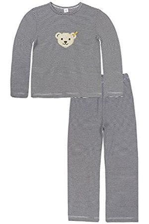 Steiff Girl's 0006563 2Pcs Playsuit Clothing Set, Marine