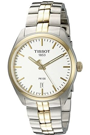 Tissot Mens Analogue Quartz Watch with Stainless Steel Strap T1014102203100