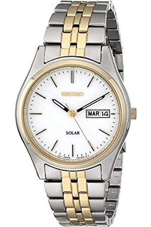 Seiko Men's Analogue Quartz Watch with Stainless Steel Strap SNE032P1