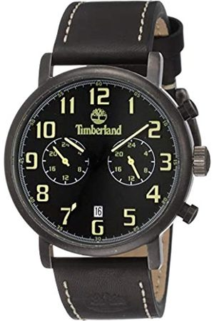 Timberland Mens Analogue Classic Quartz Watch with Leather Strap TBL.15405JSQU/02