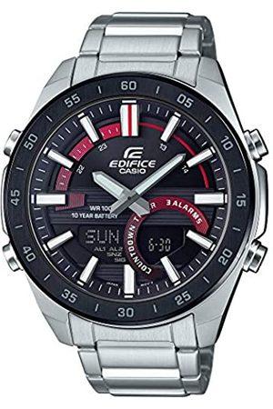 Casio Men's Analogue-Digital Quartz Watch with Stainless Steel Strap ERA-120DB-1AVEF