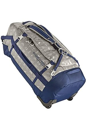 Eagle Creek Cargo Hauler Wheeled Duffel Bag 130L, Split Roller Bag, Foldable Travel Bag with Wheels, Weather and Abrasion Resistant TPU Fabric, with Backpack Straps