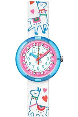 Flik Flak Girl's Analogue Quartz Watch with Plastic Strap FPNP055