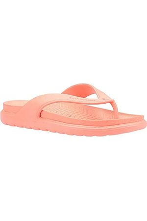 Hush Puppies Unisex Adult's Bouncer Toepost Flip Flops, (Coral Coral)