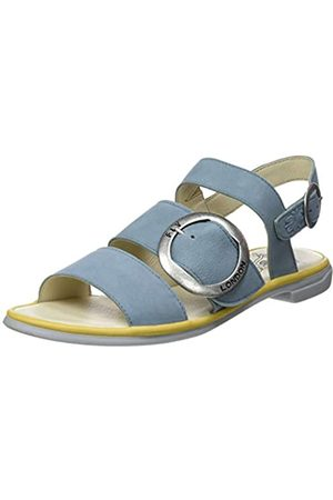 Fly London Women's CODA006FLY Open Toe Sandals, (Pale /Bumblebee 003)