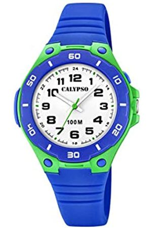 Calypso Boys Analogue Quartz Watch with Silicone Strap K5758/5