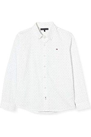 Tommy Hilfiger Boy's Mini Print Hilfiger Shirt L/S