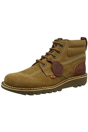 Kickers Men's Kick Hi Mash Up Classic Boots, (Tan Tan)