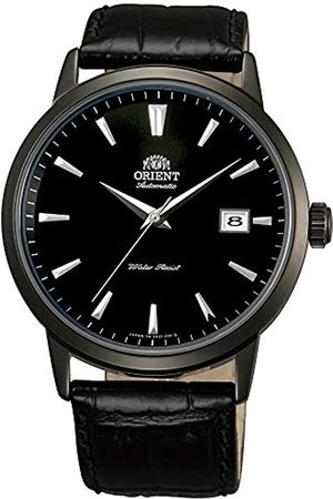 Orient Mens Analogue Automatic Watch with Leather Strap FER27001B0
