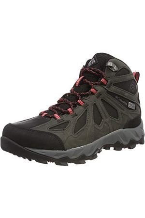 Columbia Women's Lincoln Pass MID LTR Outdry Walking Shoe, ( , Camellia 010)