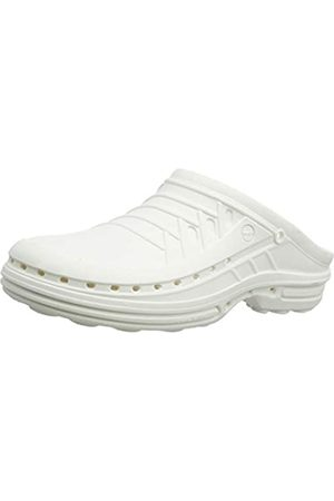WOCK Unisex Adults Clog Without Strap, (Weiss 4501020-47)