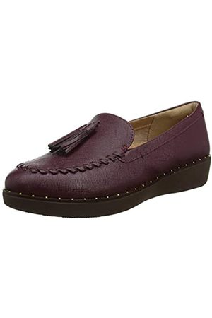 Fitflop Women's Petrina Patent Loafers, (Lingonberry 744)