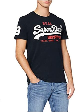 Superdry Men's Vintage Logo Tri Tee Kniited Tank Top