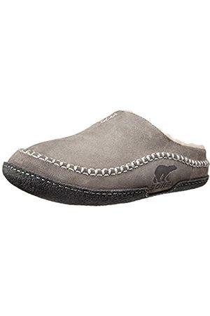sorel Falcon Ridge Slippers, Men's Open Back Slippers, (Shale)