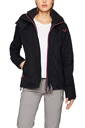 Superdry Women's Tech Hood Pop Zip Sd-windcheater Jacket Long Sleeve Jacket