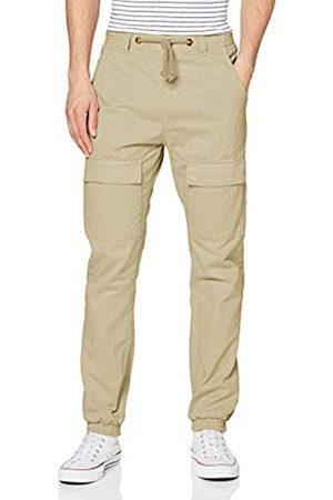 Urban classics Men's Front Pocket Cargo Hose Jogging Pants Dress