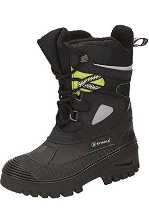 Spirale Unisex Kids' Falco Snow Boots, (Nero/Verde 05500500)